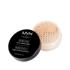 Пудра NYX Professional Makeup Mineral Finishing Powder 01 (Цвет 01 Light/Medium variant_hex_name F7CBAC)