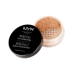 Пудра NYX Professional Makeup Mineral Finishing Powder 02 (Цвет 02 Medium/Dark variant_hex_name D59F78)