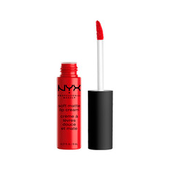 Жидкая помада NYX Professional Makeup Soft Matte Lip Cream 01 (Цвет Amsterdam variant_hex_name C21330)