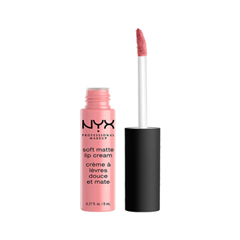 Жидкая помада NYX Professional Makeup Soft Matte Lip Cream 06 (Цвет Istanbul variant_hex_name CF7583) помада nyx professional makeup chunky dunk hydrating lippie 02 цвет 02 peach fuzzy variant hex name d19478