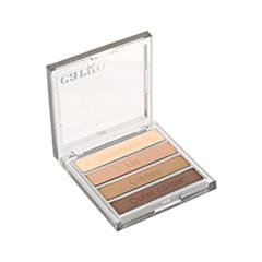 ���� ��� ��� Cargo Cosmetics Essential Eye Shadow Palette Dark Neutral (���� Dark Neutral)