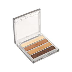 Тени для век Cargo Cosmetics Essential Eye Shadow Palette Bronze (Цвет Bronze variant_hex_name 5B4037)