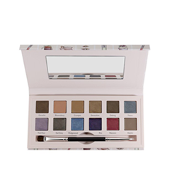 Тени для век Cargo Cosmetics Eyeshadow Palette Suited To A Tea (Цвет To A Tea variant_hex_name 7F363F)