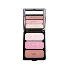 Для лица Cargo Cosmetics Палитра для лица Contour Palette Malibu (Цвет Malibu  variant_hex_name FF9F99)