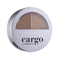 Набор для бровей Cargo Cosmetics Brow Kit Medium (Цвет Medium  variant_hex_name 7B4C3A)
