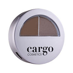 Набор для бровей Cargo Cosmetics Brow Kit Dark (Цвет Dark  variant_hex_name 695151)