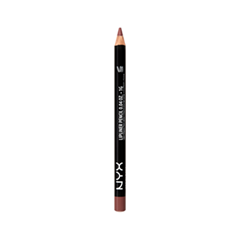 Карандаш для губ NYX Slim Lip Pencil 822 (Цвет 822 Coffee)