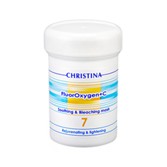 Антивозрастной уход Christina FluorOxygen+C Soothing and Bleaching Mask (Объем 250 мл) mx plus amlogic s905 smart tv box 4k android 5 1 1 quad core 1g 8g wifi dlna потокового tv box