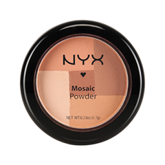 Румяна NYX Professional Makeup Mosaic Powder Blush 04 (Цвет Peachy variant_hex_name BC8668)