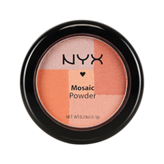 Румяна NYX Professional Makeup Mosaic Powder Blush 05 (Цвет Silk variant_hex_name CC7D5A)