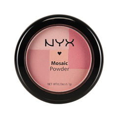 Румяна NYX Professional Makeup Mosaic Powder Blush 06 (Цвет Rosey variant_hex_name DB7D9E)