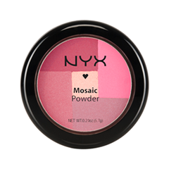 Румяна NYX Professional Makeup Mosaic Powder Blush 09 (Цвет Paradise variant_hex_name B47B88)