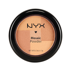 Румяна NYX Professional Makeup Mosaic Powder Blush 11 (Цвет Truth variant_hex_name E0B681)