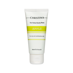 Маска Christina Sea Herbal Beauty Mask Green Apple (Объем 60 мл)