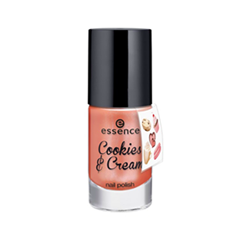 ��� ��� ������ essence Cookies & Cream Nail Polish + Sticker Onpack 01 (���� 01 Cakepop, that's top!)