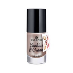 ��� ��� ������ essence Cookies & Cream Nail Polish + Sticker Onpack 02 (���� 02 Yummy, yummy!)