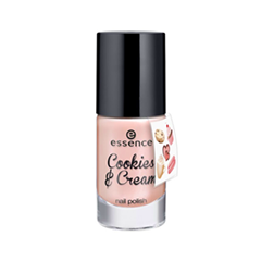 ��� ��� ������ essence Cookies & Cream Nail Polish + Sticker Onpack 04 (���� 04 Macaron, c'est bon!)