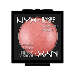 Румяна NYX Professional Makeup Baked Blush 01 (Цвет 01 Full-On Femme variant_hex_name F8CBCB)