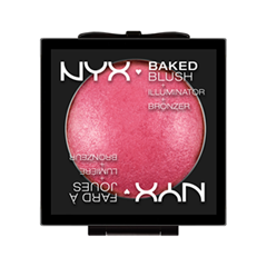 Румяна NYX Professional Makeup Baked Blush 03 (Цвет 03 Pink Fetish variant_hex_name F89FB1)