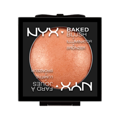 Румяна NYX Professional Makeup Baked Blush 12 (Цвет 12 Sugar Mama variant_hex_name F19A71)