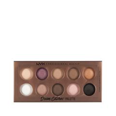 Тени для век NYX Professional Makeup Dream Catcher Palette 01 (Цвет 01 Golden Horizons variant_hex_name AA6552)