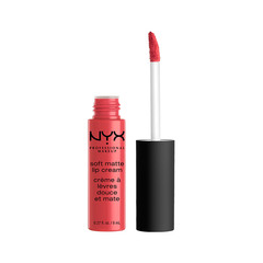 Жидкая помада NYX Professional Makeup Soft Matte Lip Cream 17 (Цвет 17 Ibiza variant_hex_name C83E4A)