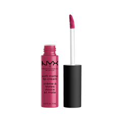 Жидкая помада NYX Professional Makeup Soft Matte Lip Cream 18 (Цвет 18 Prague variant_hex_name 9D2C48)