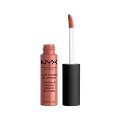 Жидкая помада NYX Professional Makeup Soft Matte Lip Cream 19 (Цвет 19 Cannes variant_hex_name 9E5049)