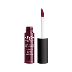 Жидкая помада NYX Professional Makeup Soft Matte Lip Cream 20 (Цвет 20 Copenhagen variant_hex_name 5B1728)