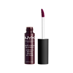 Жидкая помада NYX Professional Makeup Soft Matte Lip Cream 21 (Цвет 21 Transylvania variant_hex_name 3C1A2A)