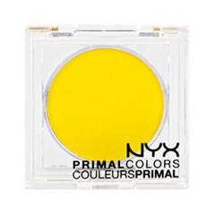 Тени для век NYX Professional Makeup Прессованные пигменты Primal Colors Face Powder 05 (Цвет 05 Hot Yellow  variant_hex_name FBDD00)