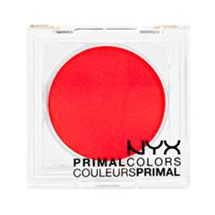 Тени для век NYX Professional Makeup Прессованные пигменты Primal Colors Face Powder 06 (Цвет 06 Hot Orange  variant_hex_name FF2E3C)