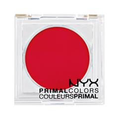 Тени для век NYX Professional Makeup Прессованные пигменты Primal Colors Face Powder 07 (Цвет 07 Hot Red variant_hex_name FD0035)