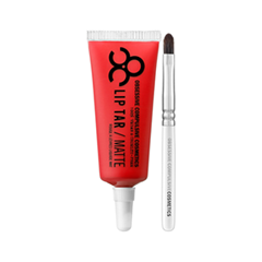 Помада Obsessive Compulsive Cosmetics Lip Tar: Matte Harlot (Цвет Harlot - Neon popsicle red variant_hex_name FC252C)