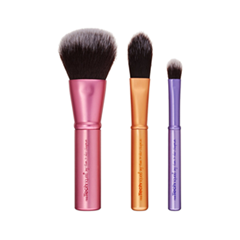 Набор кистей для макияжа Real Techniques Mini Brush Trio кисть для лица real techniques mini contour brush