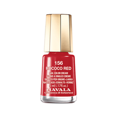 Лак для ногтей Mavala Carrousel Color's Collection 156 (Цвет 156 Rococo Red variant_hex_name E10205) лак для ногтей mavala metropolitan color s collection 353 цвет 353 gold bronze variant hex name 9b5230