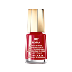 Лак для ногтей Mavala Celebrating 50 Years Collection 187 (Цвет 187 Roma  variant_hex_name 992928)