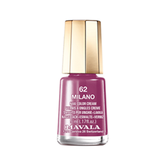 Лак для ногтей Mavala Creamy Mini Color's 062 (Цвет 062 Milano variant_hex_name 963D69) лак для ногтей mavala creamy mini color s 308 цвет 308 alpine green variant hex name 3f6c60