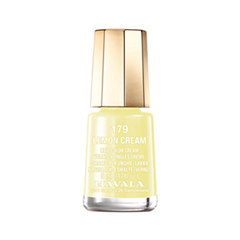 Лак для ногтей Mavala Delicious Colors Collection 179 (Цвет 179 Lemon cream variant_hex_name EFE79D)