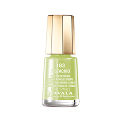 Лак для ногтей Mavala Delicious Color's Collection 183 (Цвет 183 Pistachio variant_hex_name C0CA72) лак для ногтей mavala metropolitan color s collection 353 цвет 353 gold bronze variant hex name 9b5230