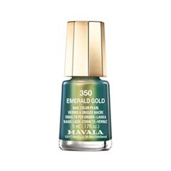��� ��� ������ Mavala Metropolitan Color's Collection 350 (���� 350 Emerand Gold)