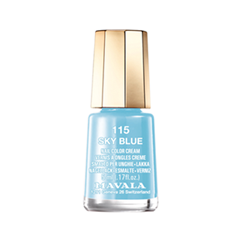 Лак для ногтей Mavala Oasis Color's Collection 115 (Цвет 115 Sky Blue variant_hex_name 7EC1DA) лак для ногтей mavala metropolitan color s collection 354 цвет 354 metallic blue variant hex name 7565a5
