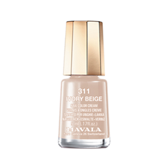 Лак для ногтей Mavala Sublime Collection 311 (Цвет 311 Ivory Beige variant_hex_name D1B6A4) лак для ногтей mavala sublime collection 312 цвет 312 poetic rose variant hex name af4a53