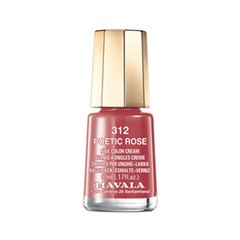 Лак для ногтей Mavala Sublime Collection 312 (Цвет 312 Poetic Rose variant_hex_name AF4A53) лак для ногтей mavala select collection 162 цвет 162 rose shell variant hex name e9beb8