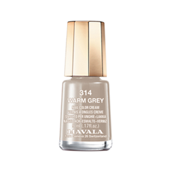 Лак для ногтей Mavala Sublime Collection 314 (Цвет 314 Warm Grey variant_hex_name B3A193) mavala набор комплекс 3 mavala nail care 1 2 3 manicure a 11 072 1 шт