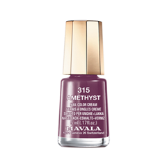 Лак для ногтей Mavala Sublime Collection 315 (Цвет 315 Amethyst variant_hex_name 6A3353) лак для ногтей mavala sublime collection 312 цвет 312 poetic rose variant hex name af4a53