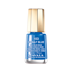 Лак для ногтей Mavala Techni-Color's Collection 103 (Цвет 103 Cobalt Blue variant_hex_name 0063B0) лак для ногтей mavala select collection 162 цвет 162 rose shell variant hex name e9beb8