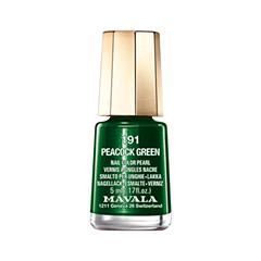 ��� ��� ������ Mavala Arabesque Color's 191 (���� 191 Pearl Peacock Green)