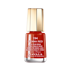 Лак для ногтей Mavala Arabesque Colors 194 (Цвет 194 Sienna Red variant_hex_name A50B03)