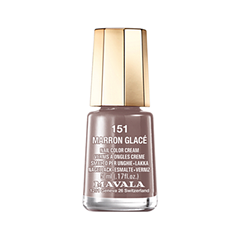 Лак для ногтей Mavala Creamy Mini Colors 151 (Цвет 151 Marron Glace variant_hex_name 785A58)